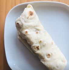 Burrito serving