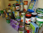 Donated food